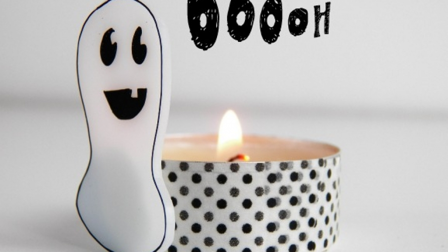 fantasma lumino di halloween