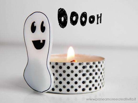 fantasma con lumino
