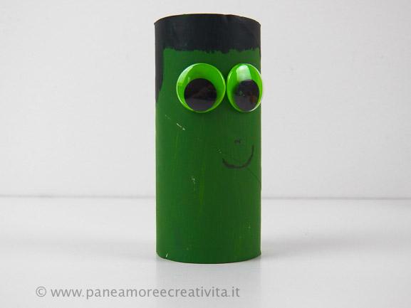 mostro_verde-lavoretti di halloween