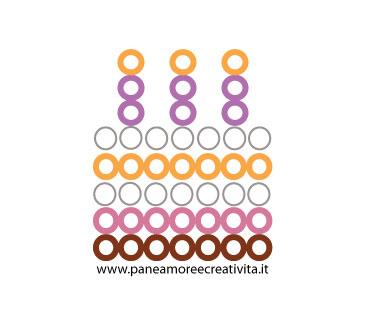 cake pattern - pyssla beads