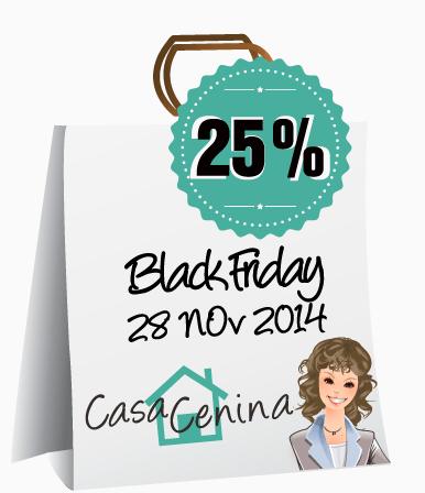 Sconto del 25% da Casa Cenina e da altri negozi per il black friday