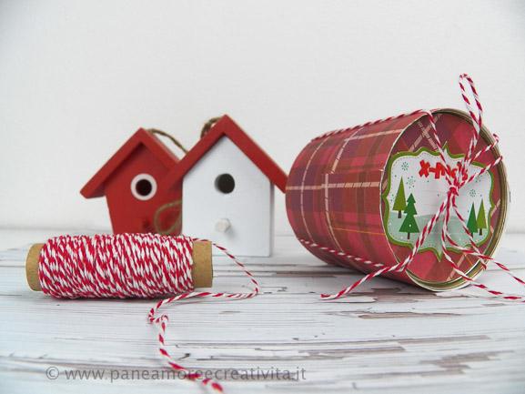 Riciclo a Natale: Come fare una confezione regalo con 2 scatole di tonno
