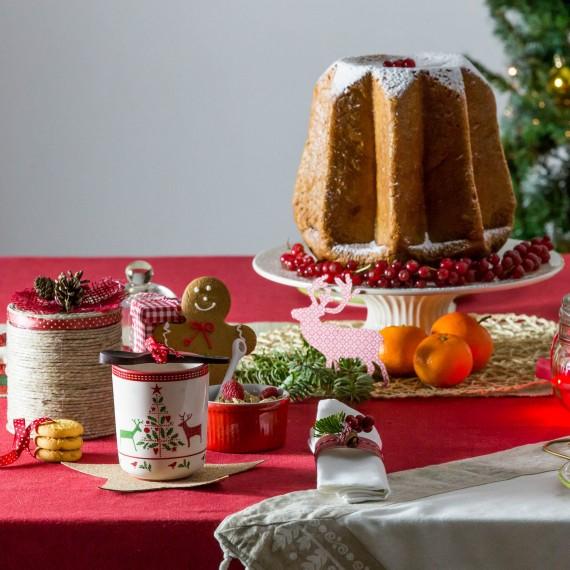 Idee per decorare la tavola di natale a colazione - Decorare la tavola a natale ...