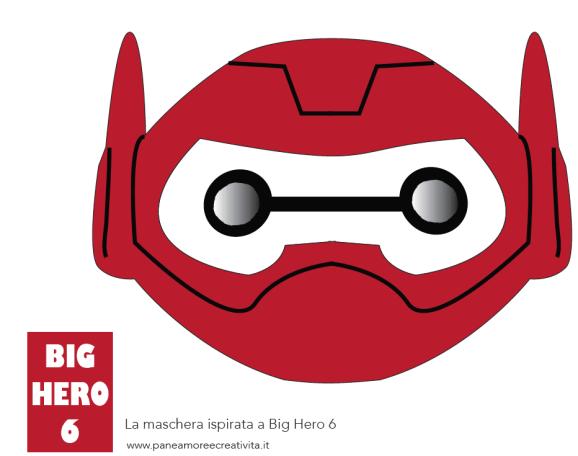 maschera baymax - big hero 6