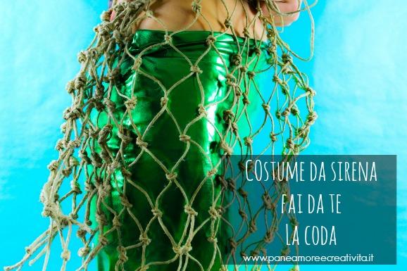 Come fare un costume da sirena: la coda - parte terza
