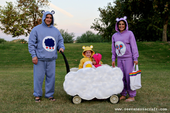costume famiglia da Orsetti del cuore