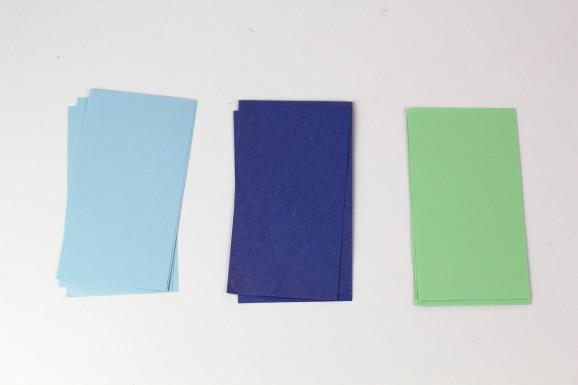 materiali lotus origami