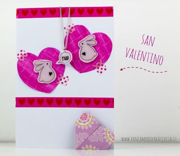 biglietto di san valentino con cuore origami-2