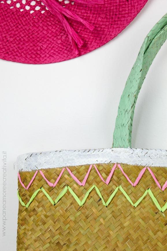 borsa di paglia decorata-578