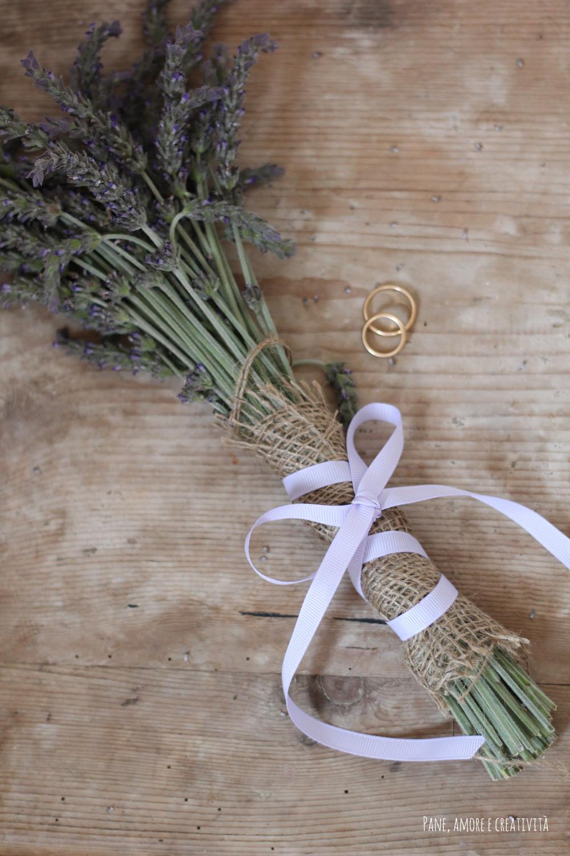 Matrimonio Simbolico Come Fare : Idee per il matrimonio come fare un bouquet di lavanda