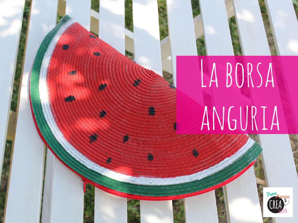 Come fare una borsa per l'estate a forma..di anguria!