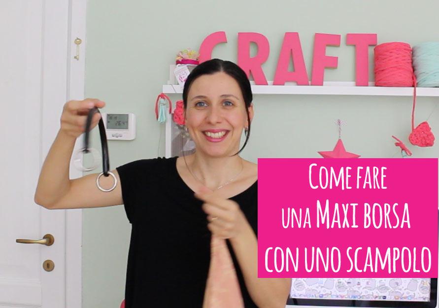 Come fare una borsa con uno scampolo pane amore e for Creare una casa online