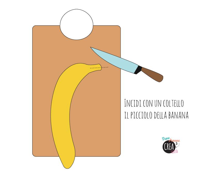 Merenda creativa per la scuola: la banana - delfino - Pane, Amore e Creativit...