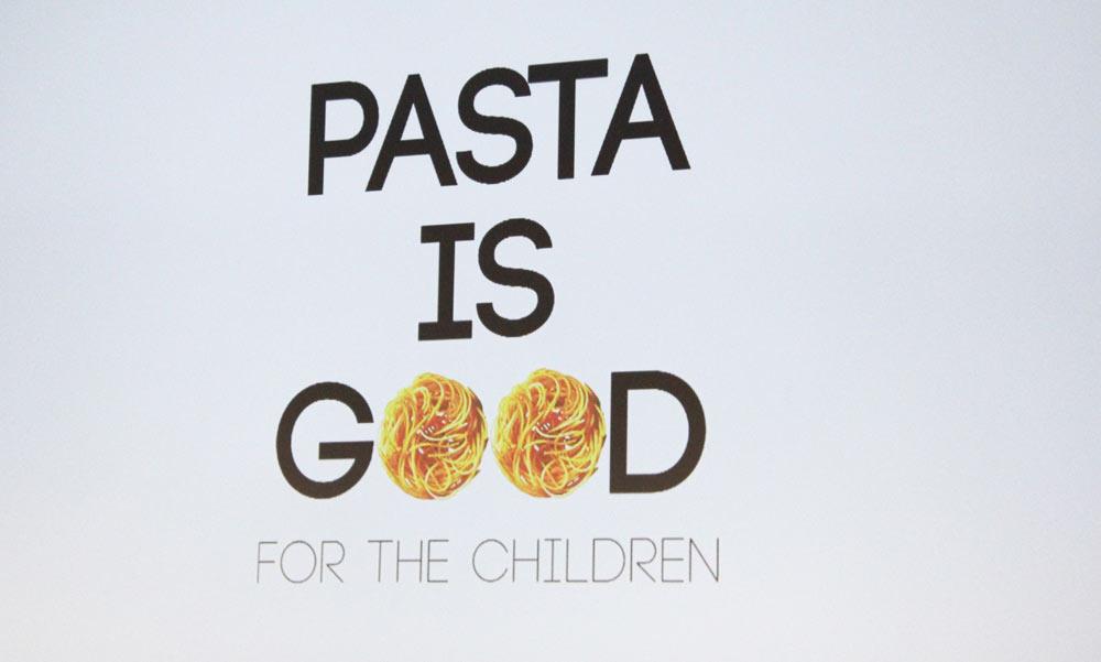 pasta is good