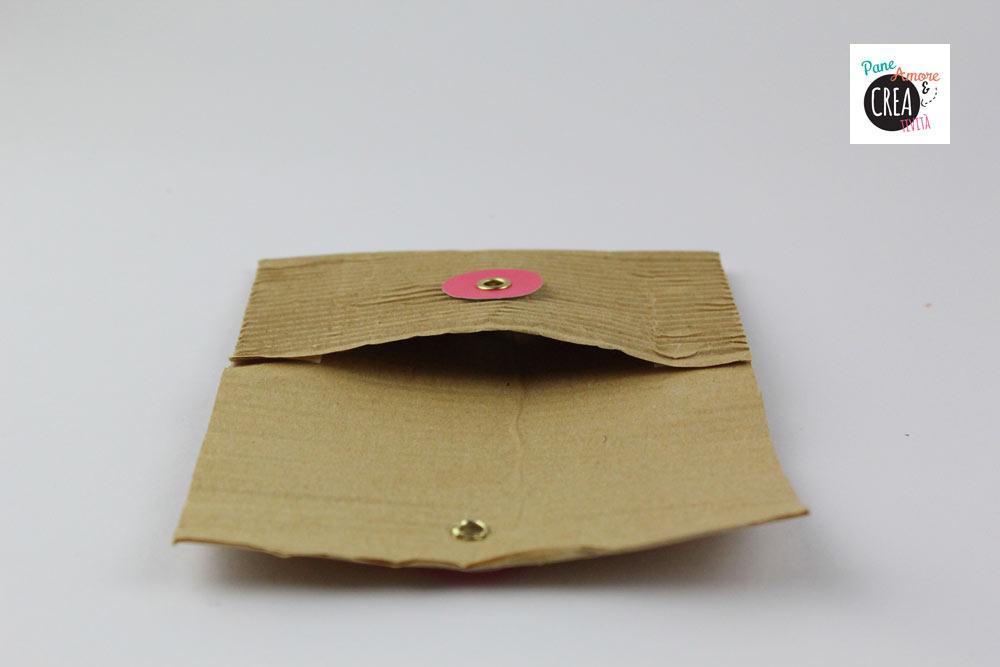 abbastanza Come fare una busta di carta con chiusura a bottone e spago - Pane  AQ59