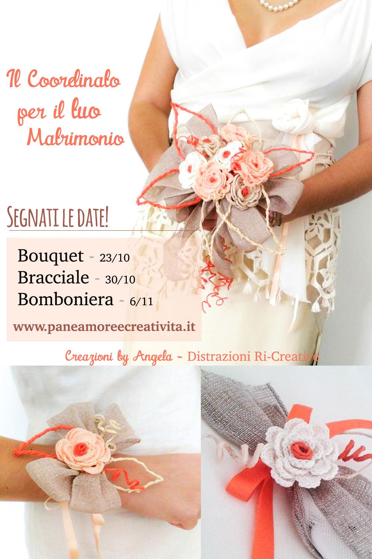 Segnaposto Matrimonio Uncinetto Fai Da Te.Matrimonio Fai Da Te Sono In Arrivo I Tutorial Per Creare Bouquet