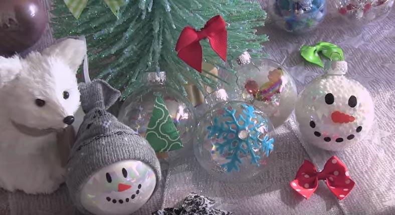 palline di Natale originali e creative