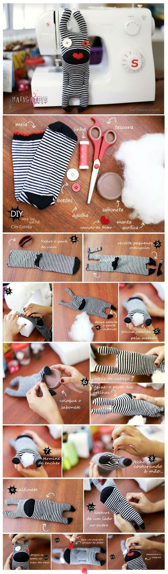 come riciclare le calze