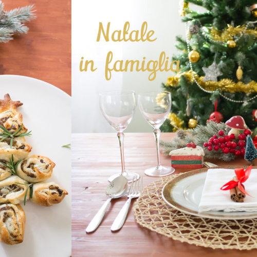 Albero di Natale di pasta sfoglia e decorazioni (video)