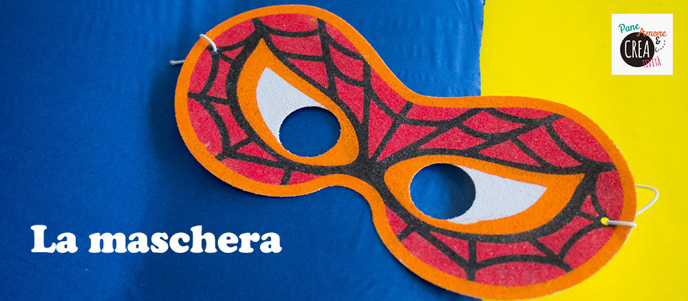 La-maschera-da-Spiderman