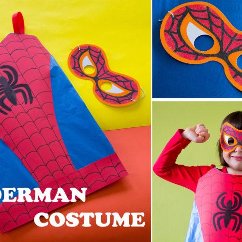 Come fare il costume da Spiderman, senza cuciture!