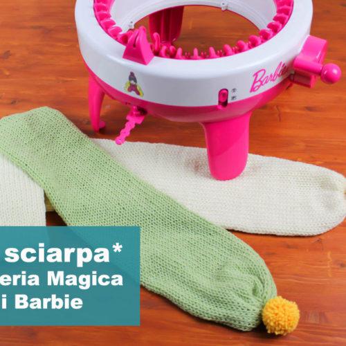 Tutorial Maglieria Magica: come fare una sciarpa