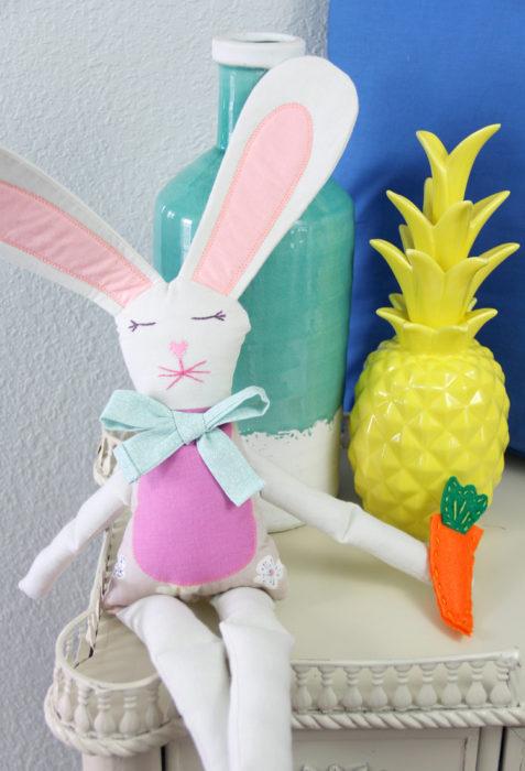 coniglietti di Pasqua- tutorial cucito