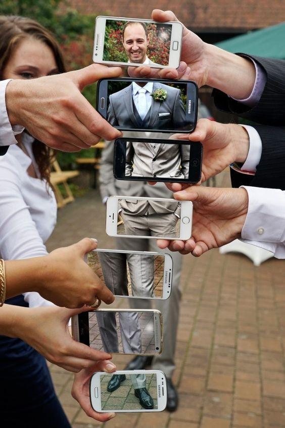 foto fatte dagli amici - organizzare il matrimonio
