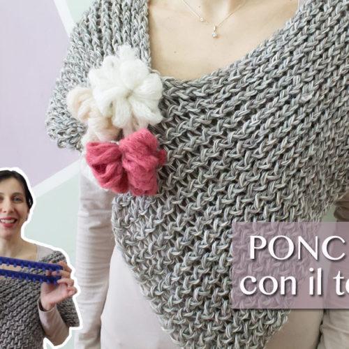 Come fare un poncho con il telaio
