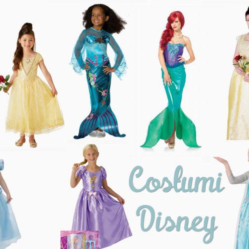 Vestiti di carnevale Disney: ecco dove trovarli!