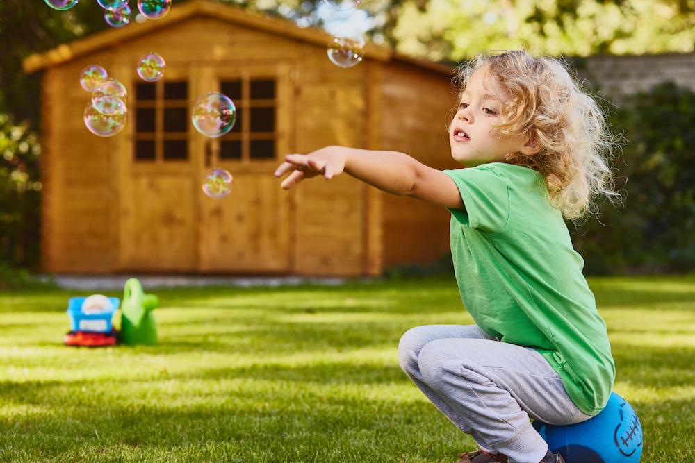 giochi da giardino fai da te