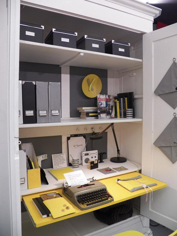 Come organizzare un angolo ufficio in casa idee creative - Mobile per computer a scomparsa ...