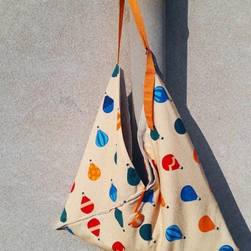 Come cucire una borsa origami