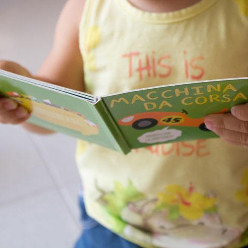 Libri per bebè: Libro dado – brummm!