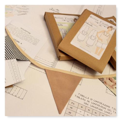 I cartamodelli per il cucito di Atelier Vicolo N.6 per Abilmente