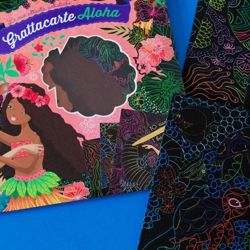 Abbiamo provato Grattacarte Aloha: i disegni da grattare