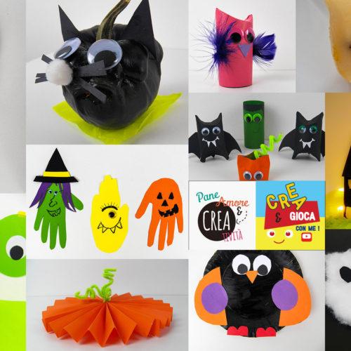 Halloween per bambini: lavoretti con tanti materiali di riciclo!