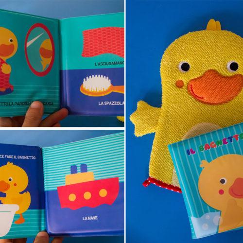 """Il libro per il bagnetto del bebè: """"Il bagnetto"""""""