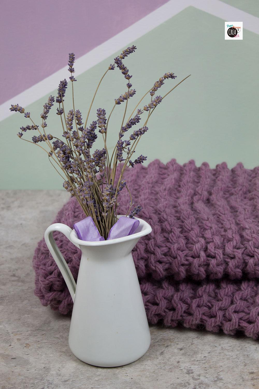 coperta di lana tutorial