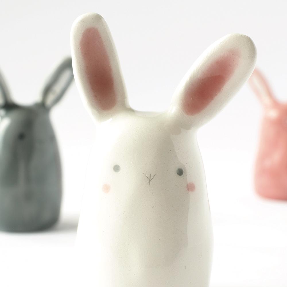 ceramica coniglietto - tramai