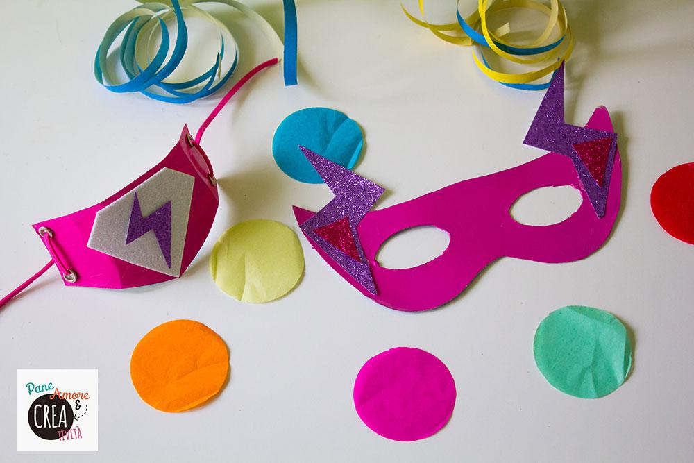 maschera da supereroe