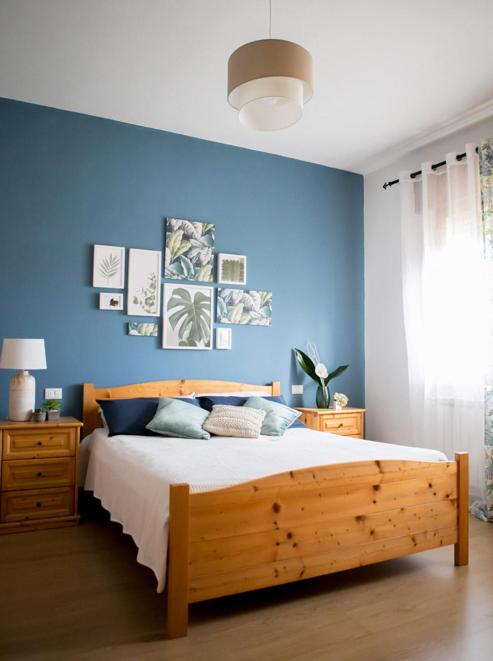 La mia camera da letto blu pane amore e creativit - Camera da letto blu notte ...