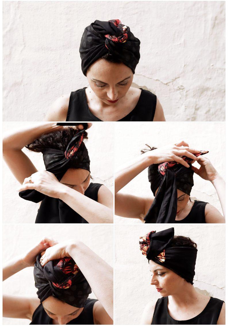pugliamia - fascia turbante come si indossa
