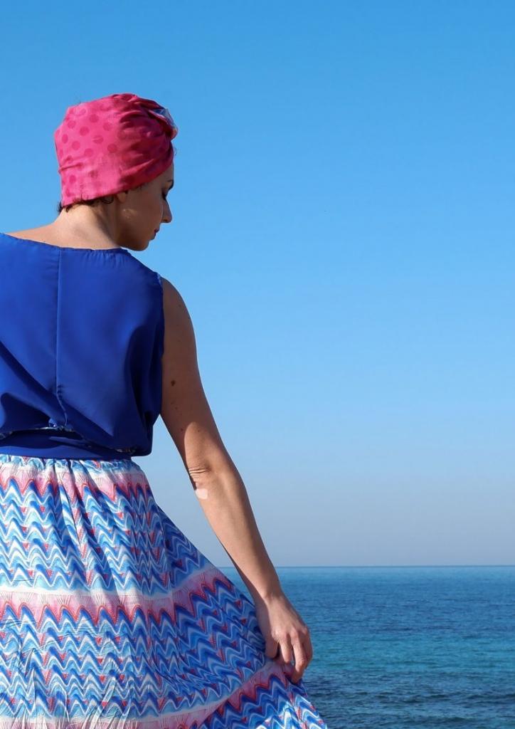 pugliamia - vestito in blu
