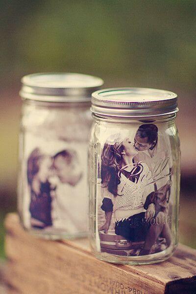 foto nei barattoli di vetro - matrimonio