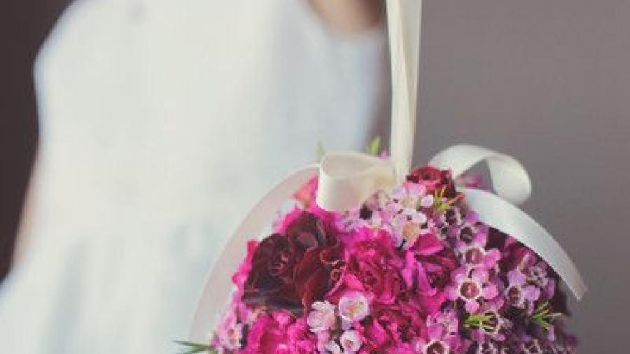 pomander per il matrimonio