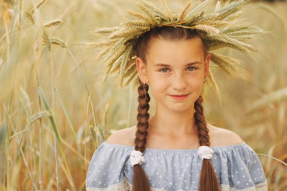 corona di grano fai da te