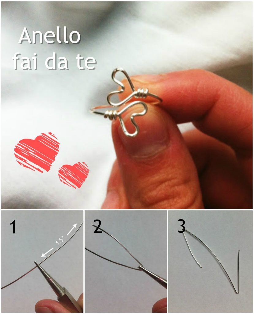 come fare un anello - tutorial facile