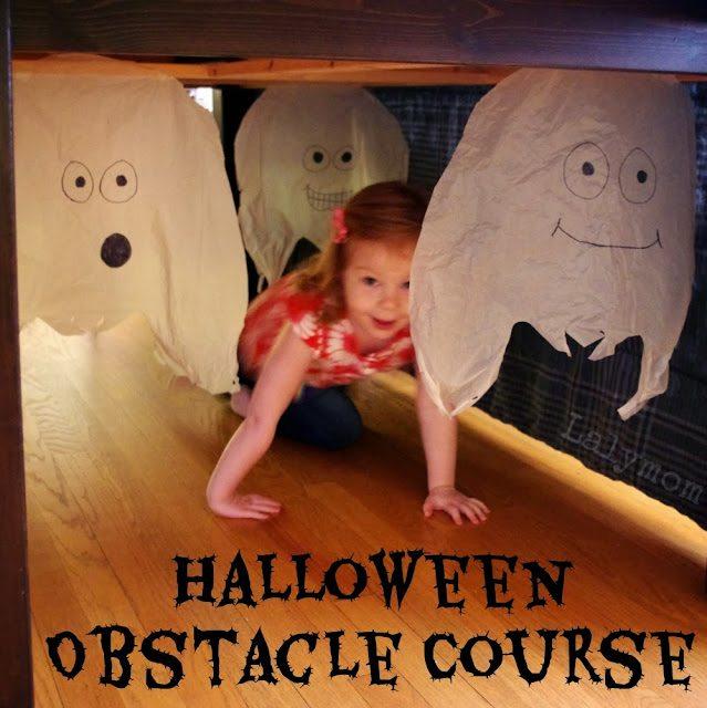 giochi di halloween: percorso pauroso