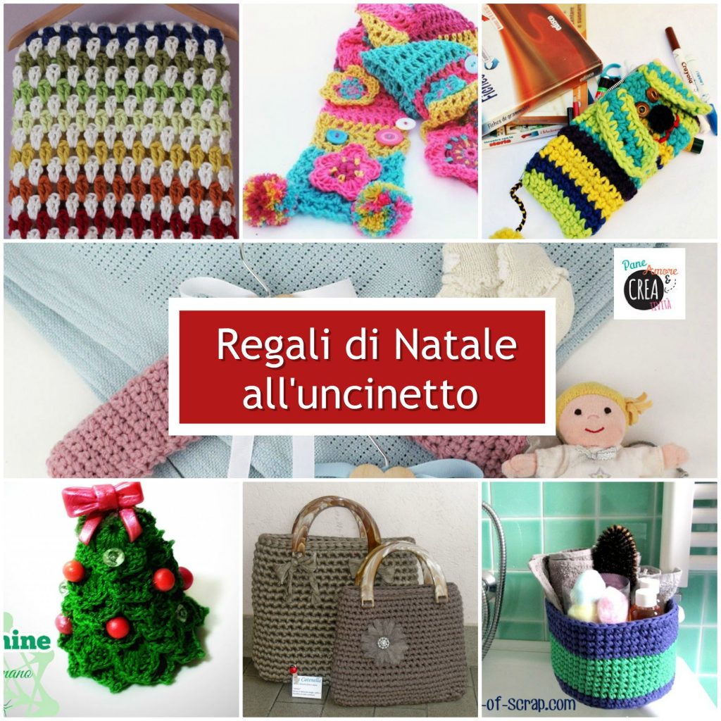 regali di natale all'uncinetto - raccolta idee con tutorial